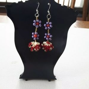 Handmade Native Canadian Earring Jewellery